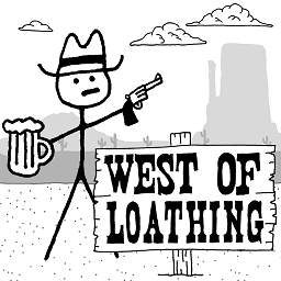 恶念之西 West of Loathing for mac
